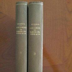 Libros antiguos: LOS CONDES DE BARCELONA VINDICADOS Y CRONOLOGÍA Y GENEALOGÍA DE LOS REYES DE ESP. 2 T. P. BOFARULL.. Lote 139994706