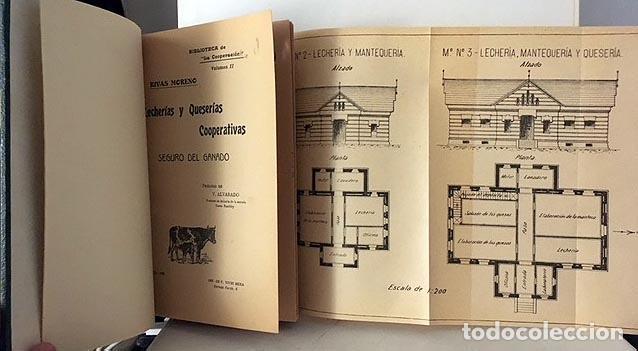 LECHERÍAS Y QUESERÍAS. COOPERATIVAS. (1905). RIVAS MORENO. ILUSTRACIONES. LECHE QUESO 1905 (Libros Antiguos, Raros y Curiosos - Cocina y Gastronomía)