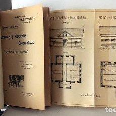 Libros antiguos: LECHERÍAS Y QUESERÍAS. COOPERATIVAS. (1905). RIVAS MORENO. ILUSTRACIONES. LECHE QUESO 1905. Lote 183965642