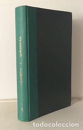 Libros antiguos: Lecherías y Queserías. Cooperativas. (1905). Rivas Moreno. Ilustraciones. Leche Queso 1905 - Foto 3 - 183965642