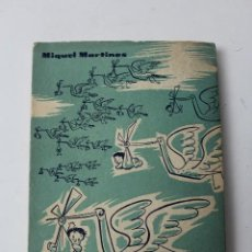 Libros antiguos: L- 4698. INTRASCENDENT, MIQUEL MARTINES. ANY 1958. CONTE NOVEL.LAT. Lote 129444799