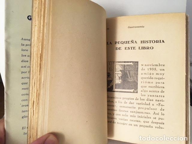 Libros antiguos: Guardiola : Gastronomía alicantina. 1944. (Conduchos de Navidad + Gastronomía... Alicante - Foto 4 - 129484203