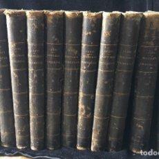 Libros antiguos: HISTORIA UNIVERSAL CESAR CANTÚ, 1886 11 TOMOS . Lote 129484411