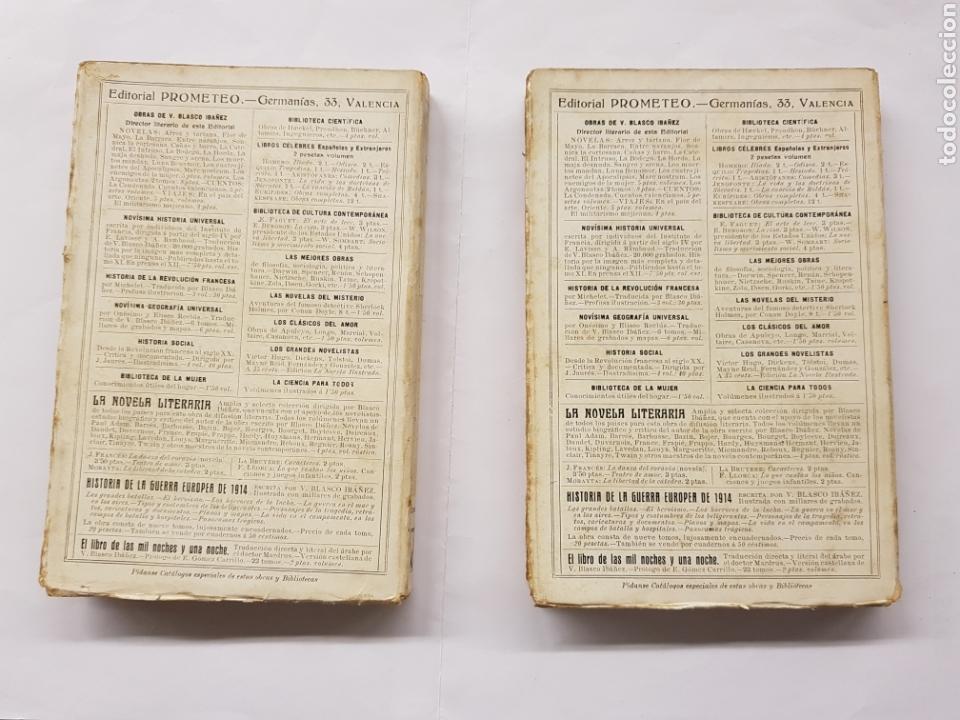 Libros antiguos: Odisea - Homero - Dos tomos - Editorial Prometeo - Foto 2 - 129500719