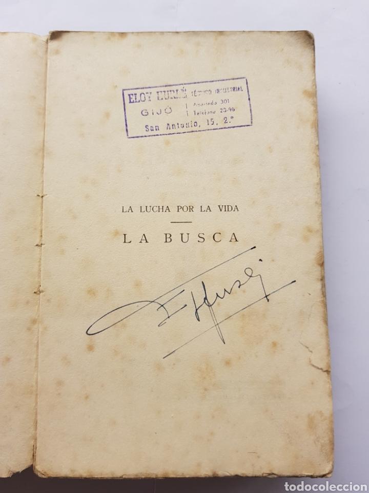 Libros antiguos: La busca - Pío Baroja - 1920 - Foto 3 - 129505768