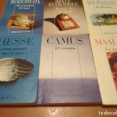 Libros antiguos: LOTE DE MINI LIBROS DE BOLSILLO . Lote 129526123