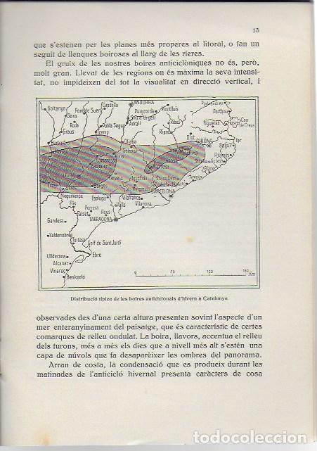 Libros antiguos: El cel de Catalunya / Eduard Fontserè. BCN : Ateneu, 1935. 22x15 cm. 27 p. - Foto 3 - 129540591
