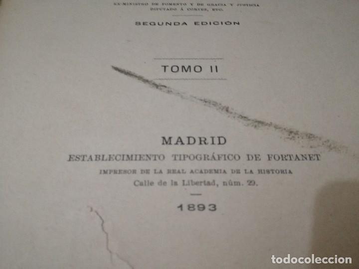 Libros antiguos: CARTAS A ALFONSOO XIII-TOMO II-JOSE MUÑIZ Y TERRONES-SEGUNDA EDICION 1893 - Foto 6 - 129582847