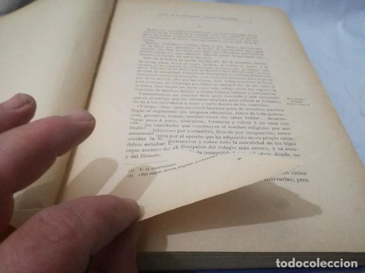 Libros antiguos: CARTAS A ALFONSOO XIII-TOMO II-JOSE MUÑIZ Y TERRONES-SEGUNDA EDICION 1893 - Foto 9 - 129582847