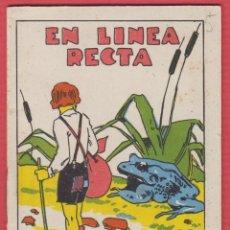 Libros antiguos: EN LINEA RECTA, POR SATURNINO CALLEJA, SERIE: XIV--TOMO: 265, 14 PAGINAS, LIV326. Lote 129689343