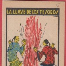 Libros antiguos: LA LLAVE DE LOS TESOROS, POR: SATURNINO CALLEJA, SERIE: XI -- TOMO: 207, 14 PAGINAS, LIV330. Lote 129690391