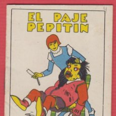 Libros antiguos: EL PAJE PEPITÍN, POR: SATURNINO CALLEJA, SERIE: XIV, -- TOMO: 275, 14 PAGINAS, LIV340. Lote 129692935