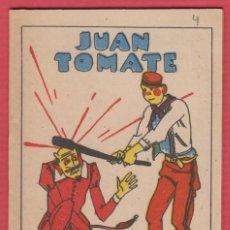 Libros antiguos: JUAN TOMATE, POR: SATURNINO CALLEJA, SERIE: XIV, -- TOMO: 278, 14 PAGINAS, LIV341. Lote 129693183
