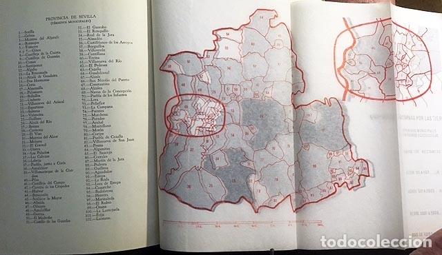 LA DESAMORTIZACIÓN ECLESIÁSTICA EN SEVILLA. (A. LAZO) MAPA DESPLEGABLE CON MUNICIPIOS DESAMORTIZAD (Libros Antiguos, Raros y Curiosos - Historia - Otros)