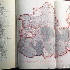 Libros antiguos: LA DESAMORTIZACIÓN ECLESIÁSTICA EN SEVILLA. (A. LAZO) MAPA DESPLEGABLE CON MUNICIPIOS DESAMORTIZAD . Lote 129695271