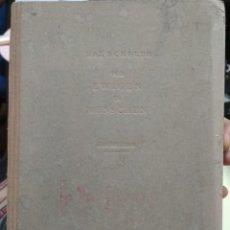 Libros antiguos: VOM EWIGEN IM MENSCHEN VON MAX SCHELER. 1923. Lote 129697027