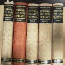 Libros antiguos: HISTORIA DEL ARTE HISPÁNICO. MARQUÉS DE LOZOYA. 5 TOMOS. Lote 129741695