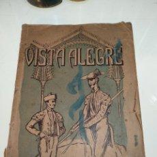 Libros antiguos: LA PLAZA DE VISTA ALEGRE - 1882-1910 - PLAZA DE TOROS - TAUROMAQUIA - LIBRO RARO - 158 PP. - 1911 -. Lote 129968447