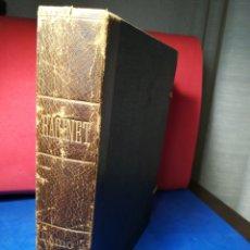 Libros antiguos: LE COSTUME HISTORIQUE-TOMO 5-ALBERT RACINET,1888-HISTORIA DEL VESTIDO(FRANCÉS)(99/100 LÁMINAS). Lote 130019687