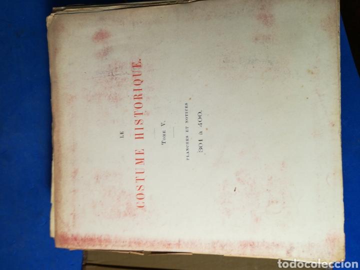 Alte Bücher: Le Costume Historique-Tomo 5-Albert Racinet,1888-Historia del vestido(francés)(99/100 láminas) - Foto 5 - 130019687