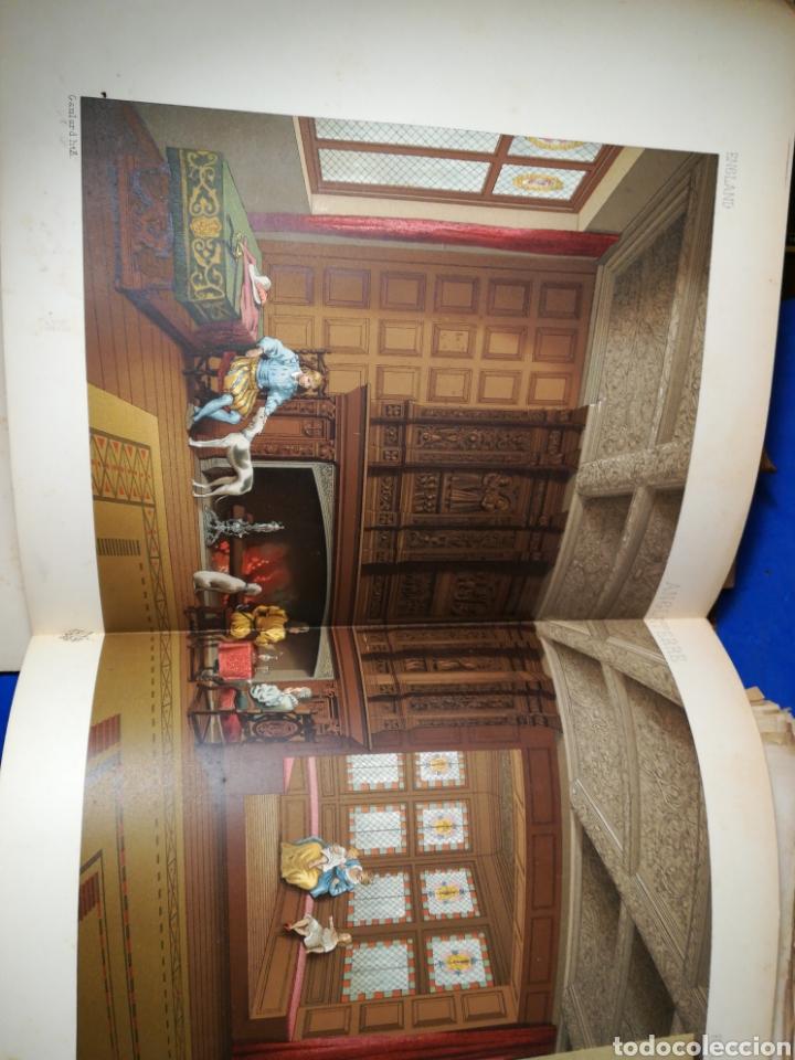 Alte Bücher: Le Costume Historique-Tomo 5-Albert Racinet,1888-Historia del vestido(francés)(99/100 láminas) - Foto 8 - 130019687