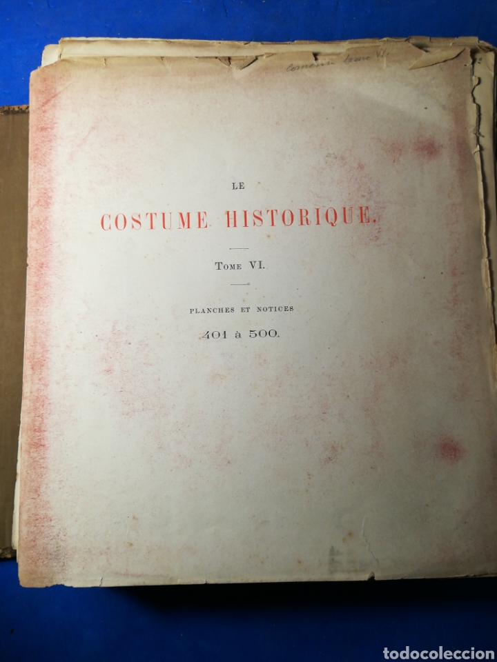 Alte Bücher: Le Costume Historique-Tomo 6-Albert Racinet,1888-Historia del vestido(francés)(89/100 láminas) - Foto 2 - 130020003