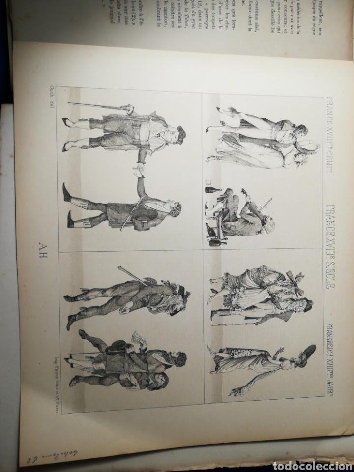 Alte Bücher: Le Costume Historique-Tomo 6-Albert Racinet,1888-Historia del vestido(francés)(89/100 láminas) - Foto 6 - 130020003