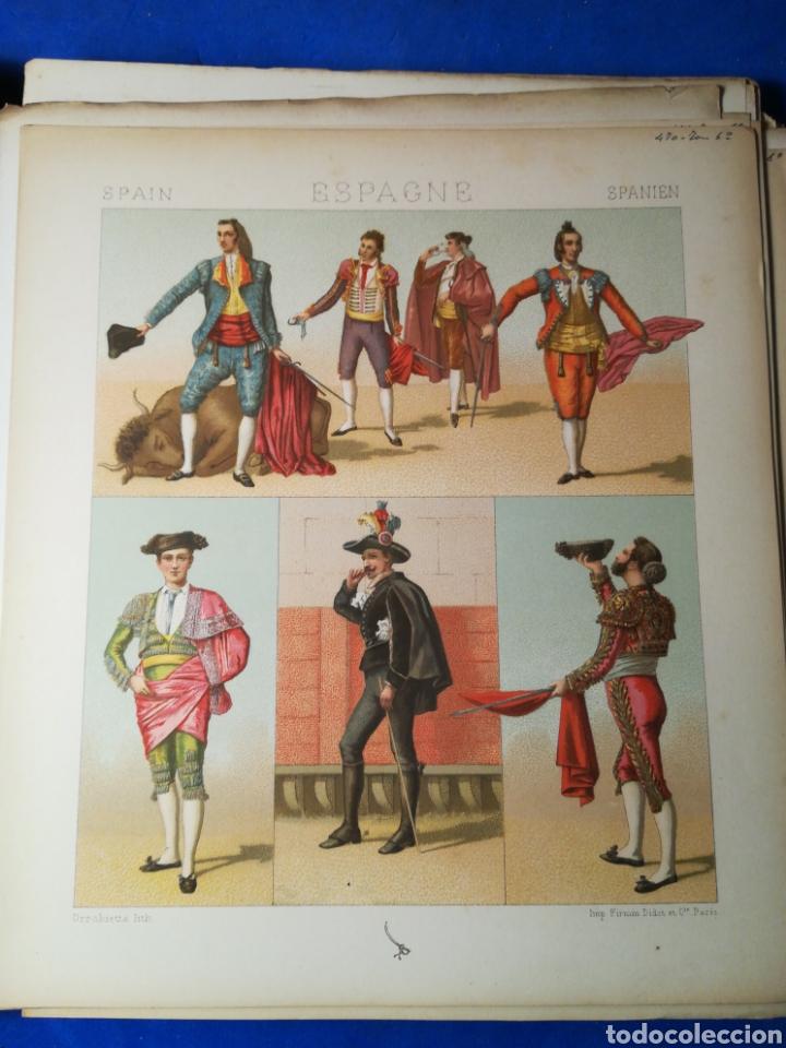Alte Bücher: Le Costume Historique-Tomo 6-Albert Racinet,1888-Historia del vestido(francés)(89/100 láminas) - Foto 7 - 130020003
