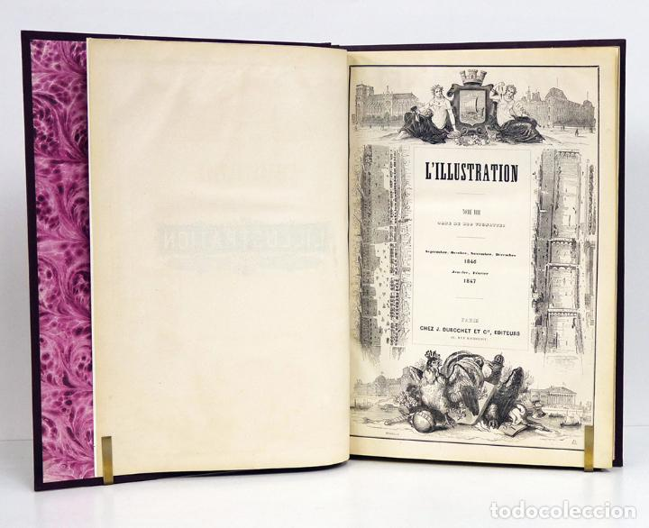 Libros antiguos: L'ILLUSTRATION, Journal Universel. Tome VIII: Sept.-Déc., 1846 y Jan.-Fév, 1847. Con 800 grabados - Foto 2 - 130142682