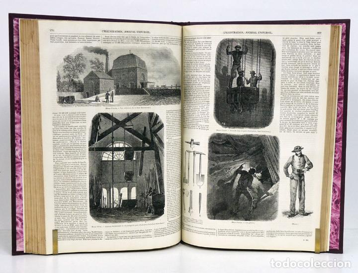 Libros antiguos: L'ILLUSTRATION, Journal Universel. Tome VIII: Sept.-Déc., 1846 y Jan.-Fév, 1847. Con 800 grabados - Foto 4 - 130142682