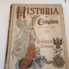 Libros antiguos: HISTORIA DE EUROPA, CASTELAR. TOMO V. Lote 130169055