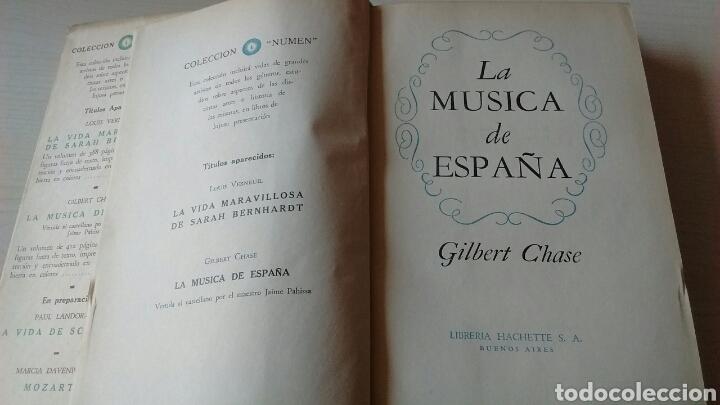 Libros antiguos: LA MÚSICA DE ESPAÑA - Foto 4 - 130155855