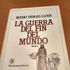 Libros antiguos: LA GUERRA DEL FIN DEL MUNDO . Lote 134149998