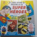 Libros antiguos: LIBRO RECETAS SUPER HÉROES DC, SUPERMAN, BATMAN, WONDER WOMAN, GREEN LANTERN, ETC..... Lote 130229333