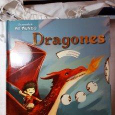 Libros antiguos: DRAGONES, LIBRO POP-UP. Lote 130311498