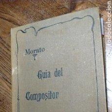 Libros antiguos: GUÍA PRÁCTICA DEL COMPOSITOR TIPOGRÁFICO. Lote 130306806