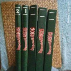 Libros antiguos: DINOSAURIOS PLANETA AGOSTINI 5 TOMOS.. Lote 130434054