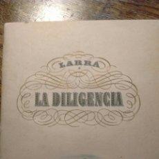 Libros antiguos: LA DILIGENCIA - NAVIDAD 1945. Lote 130388766