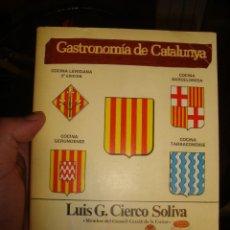 Libros antiguos: GASTRONOMIA DE CATALUNYA , AÑOS 80 . Lote 130569490
