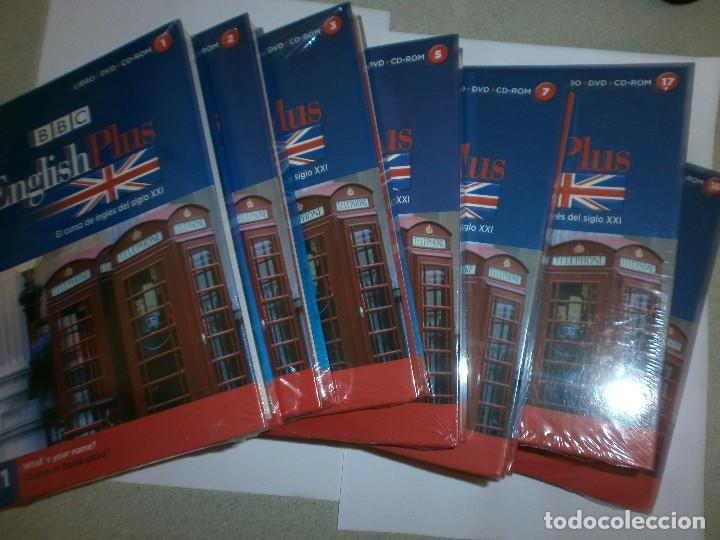 CURSO INGLES BBC Nº 1-2-3-5-7-17 Y 18 (Libros Antiguos, Raros y Curiosos - Otros Idiomas)