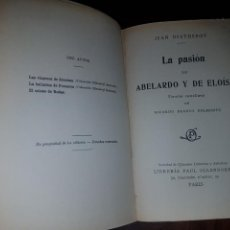 Libros antiguos: LA PASIÓN DE ABELARDO Y ELOÍSA. Lote 130615775