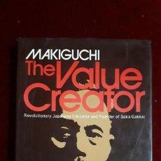 Libros antiguos: THE VALUE CREATOR. MAKIGUCHI. 1944. Lote 130737244