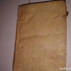 Libros antiguos: PRACTICA DE CURAS Y MISIONEROS, 1690 (T 1-3). Lote 130774096