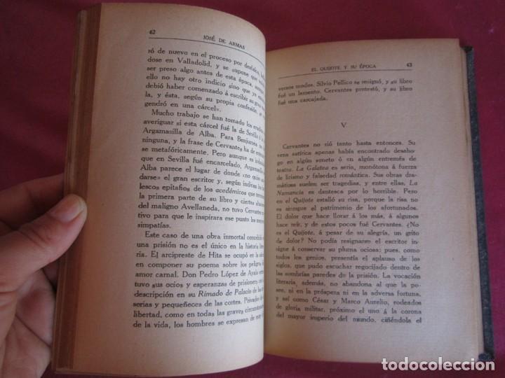 Libros antiguos: EL QUIJOTE Y SU ÉPOCA. JOSÉ DE ARMAS. RENACIMIENTO 1915 FIRMADO AUTOR - Foto 8 - 130836260