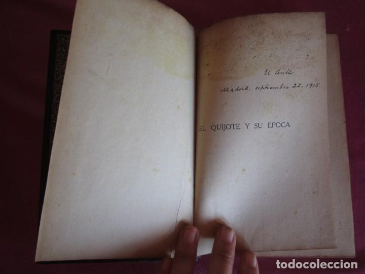 Libros antiguos: EL QUIJOTE Y SU ÉPOCA. JOSÉ DE ARMAS. RENACIMIENTO 1915 FIRMADO AUTOR - Foto 9 - 130836260