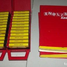 Libros antiguos: CURSO DE INGLES ENGLISH JUNIOR . Lote 130856488