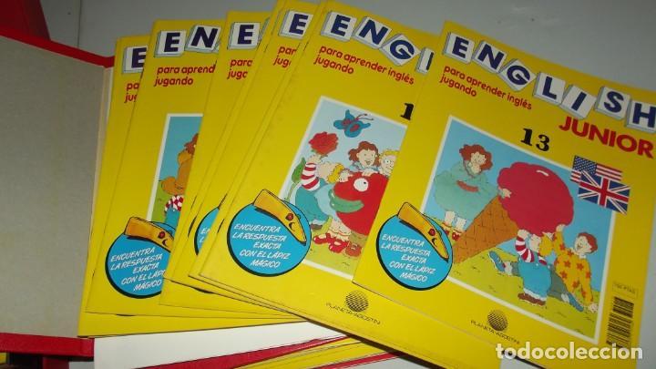 Libros antiguos: Curso de ingles English Junior - Foto 3 - 208146957