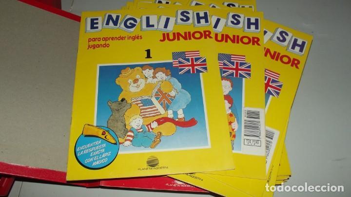 Libros antiguos: Curso de ingles English Junior - Foto 4 - 208146957