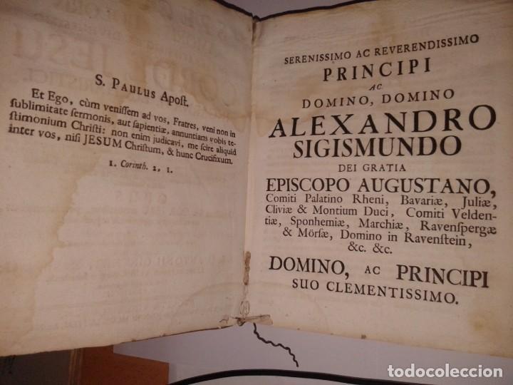 Libros antiguos: SPECULUM AMORIS EL DOLORIS IN SACRATISSIMO AC DIVINISSIMO 1743 (T 1-6) - Foto 4 - 130858104