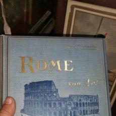 Libros antiguos: ROMA SUERTE Y SUS ASPECTOS ROME SON ART ET SES ASPECTS HENRY GUERLIN. Lote 130959577